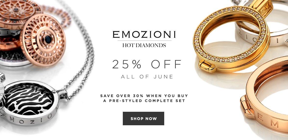 Bella Mia Boutique Bella Mia Boutique: 25% off Emozioni jewellery