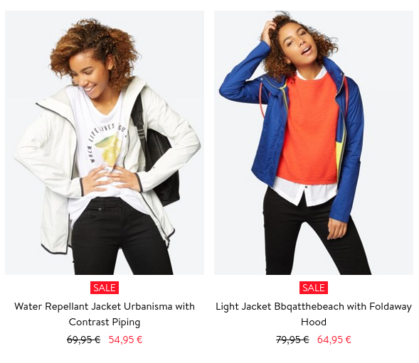 Bench: Sale up to 50% off ladies and mens clothing