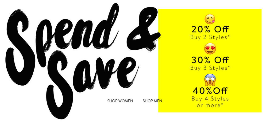 Bench: up to 40% off women, men or kids clothes, shoes and accessories