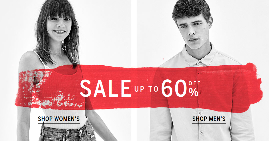 Bershka: sale up to 60% off