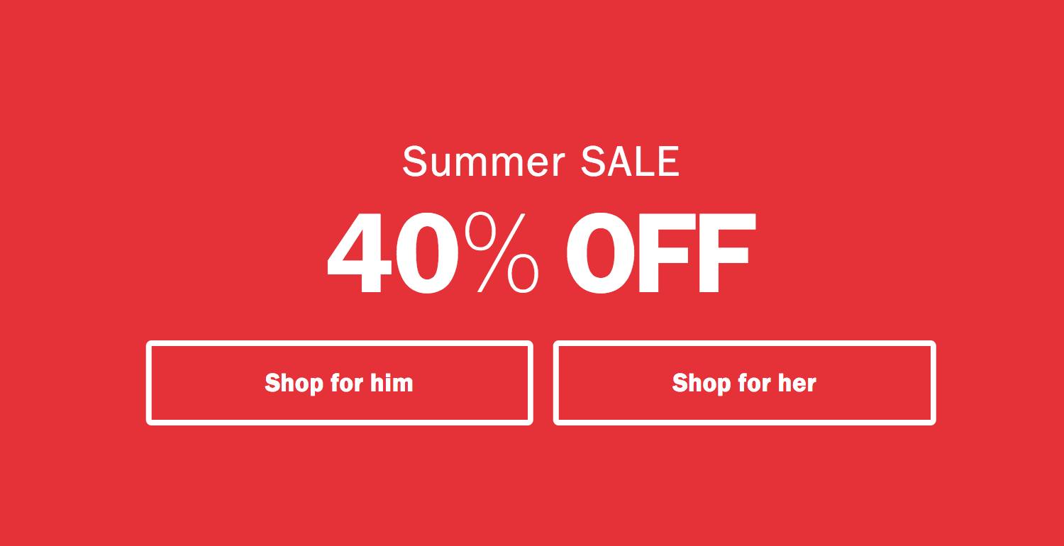 Bjorn Borg: Sale 40% off underwear and sportswear
