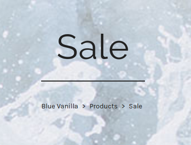 Blue Vanilia: Sale up to 50% off ladies clothing and shoes