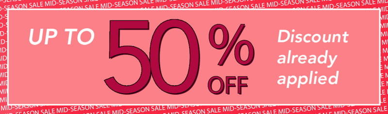 Blue Vanilla: Mid Season Sale up to 50% off trendy range of coats & jackets, tops & dresses and shoes & boots