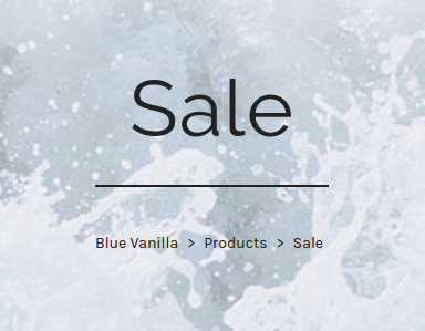 Blue Vanilla: Sale even above 60% off dresses, tops, knitwear, skirts, trousers, jumpsuits and shoes