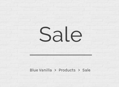 Blue Vanilla: Sale up to 60% off clothes, shoes and jewellery
