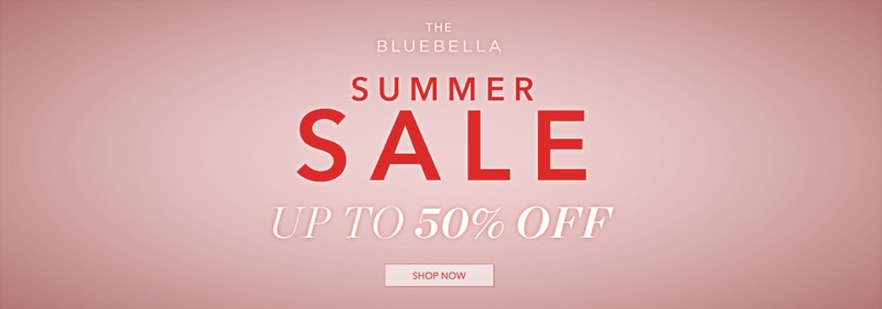 Bluebella: Summer Sale up to 50% off lingerie