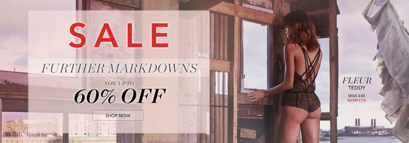 Bluebella Bluebella: Sale up to 60% off lingerie and nightwear