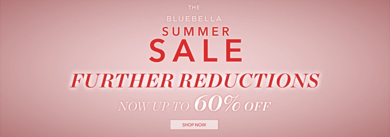 Bluebella: Summer Sale up to 60% off lingerie