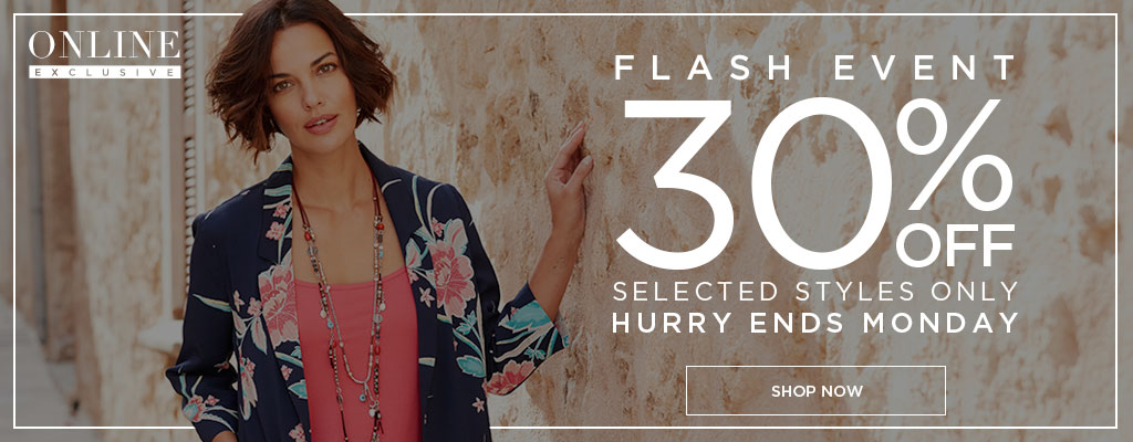 Bonmarché: 30% off ladies clothing and fashion