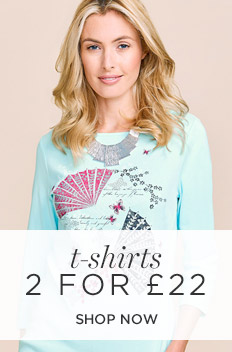 Bonmarché: 2 t-shirts for £22