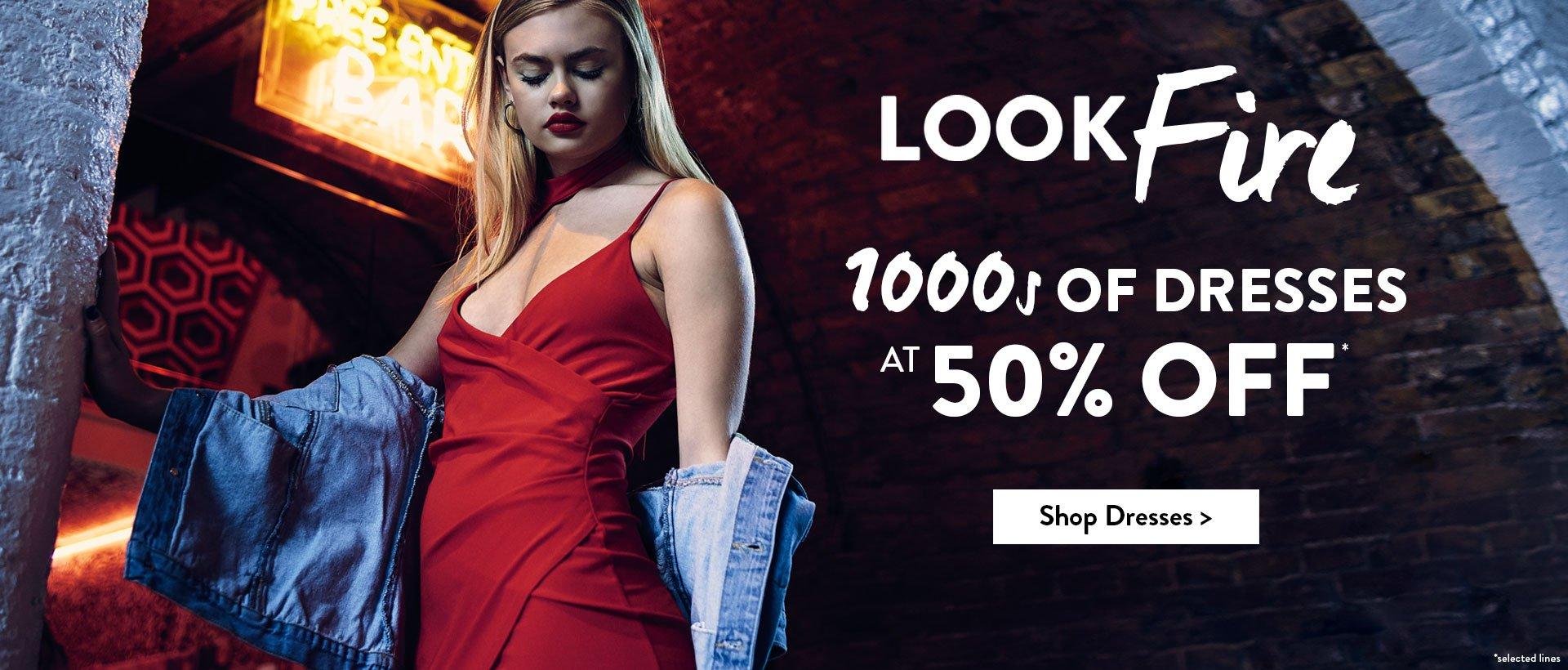 Boohoo: 50% off 1000s of dresses