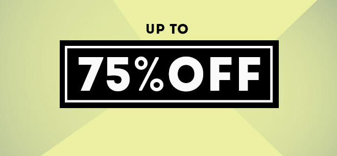 BooHoo: sale up to 75% off