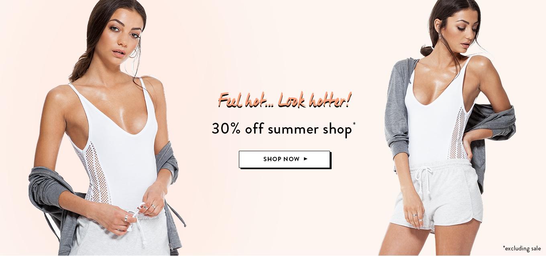 BooHoo: 30% off summer shop