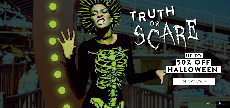 BooHoo: up to 50% off Halloween