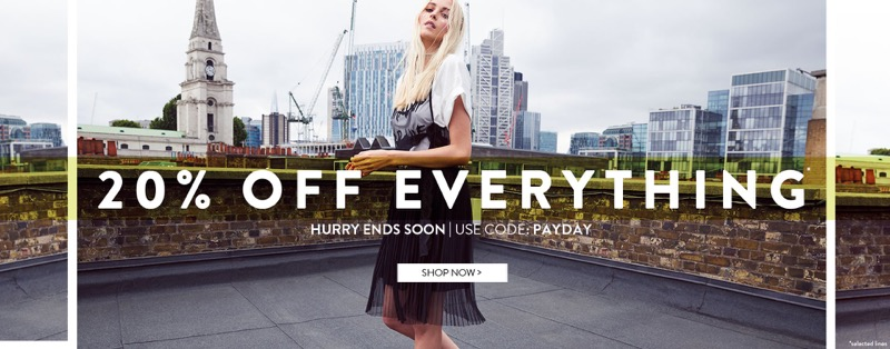Boohoo Boohoo: 20% off dresses, shoes and accessories