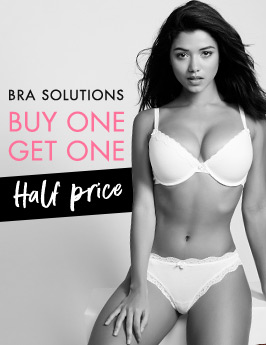 Boux Avenue: buy one bra get one half price