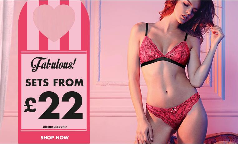 Boux Avenue: fabulous lingerie sets from £22