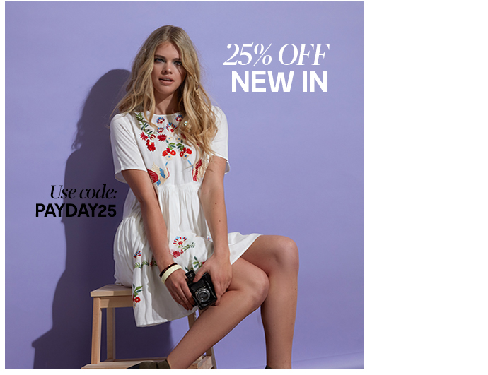Brand Attic: 25% off new in women's and men's clothing