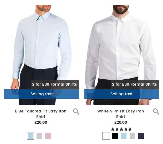 Burton Burton: 2 mens formal shirts for £30