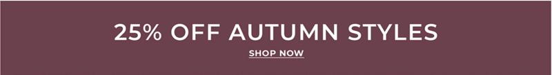 Burton Burton: 25% off autumn menswear