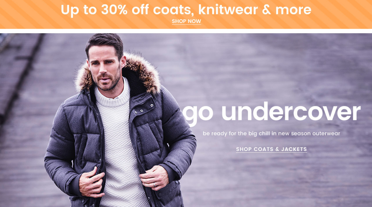Burton Burton: up to 30% off coats, knitwear and more