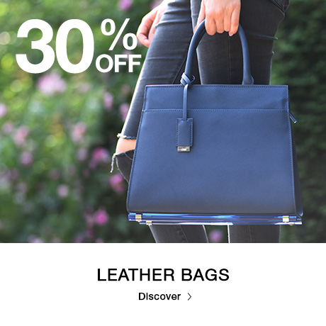 Storm Watches: 30% off leather bags