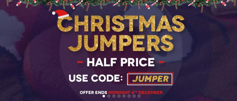 Charles Wilson Charles Wilson: 50% off Christmas jumpers