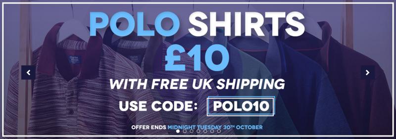 Charles Wilson Charles Wilson: polo shirts £10