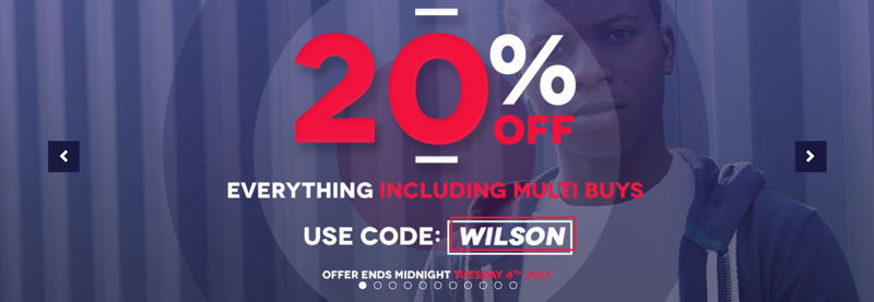 Charles Wilson Charles Wilson: 20% off everything including multi buys