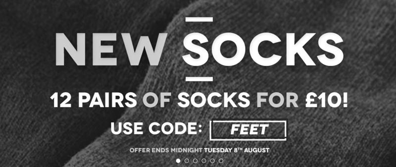 Charles Wilson Charles Wilson: 12 pairs of socks for £10