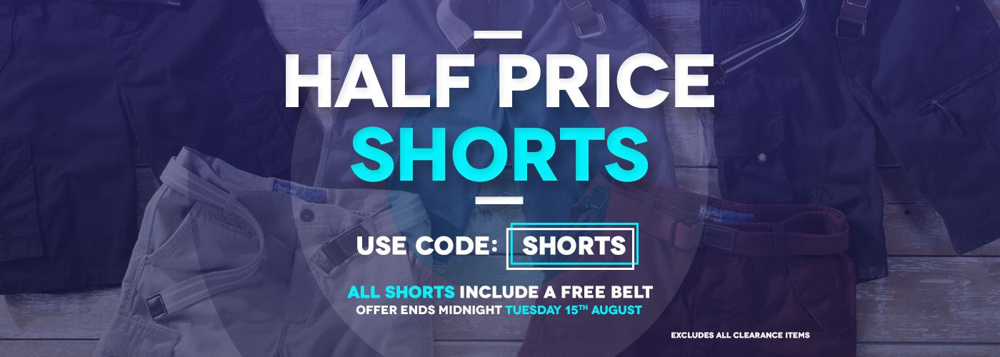 Charles Wilson Charles Wilson: 50% off shorts
