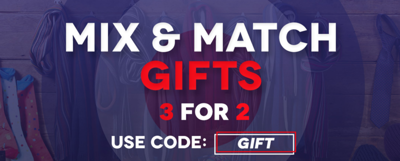 Charles Wilson: 3 for 2 on gifts
