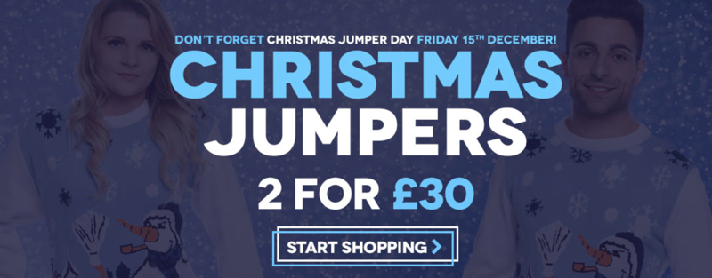Charles Wilson Charles Wilson: 2 Christmas jumpers for £30