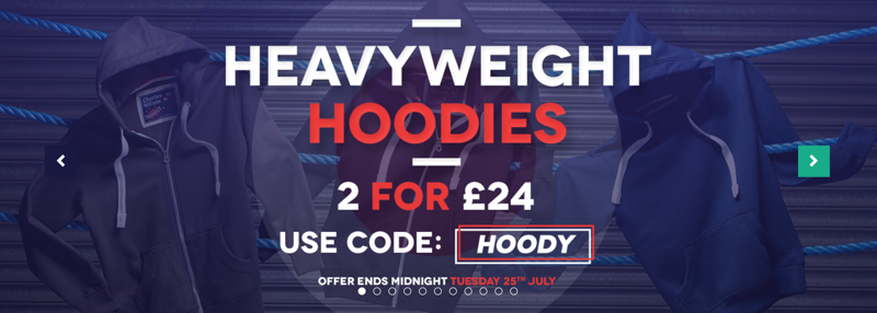 Charles Wilson Charles Wilson: 2 for £24 off heavyweight hoodies