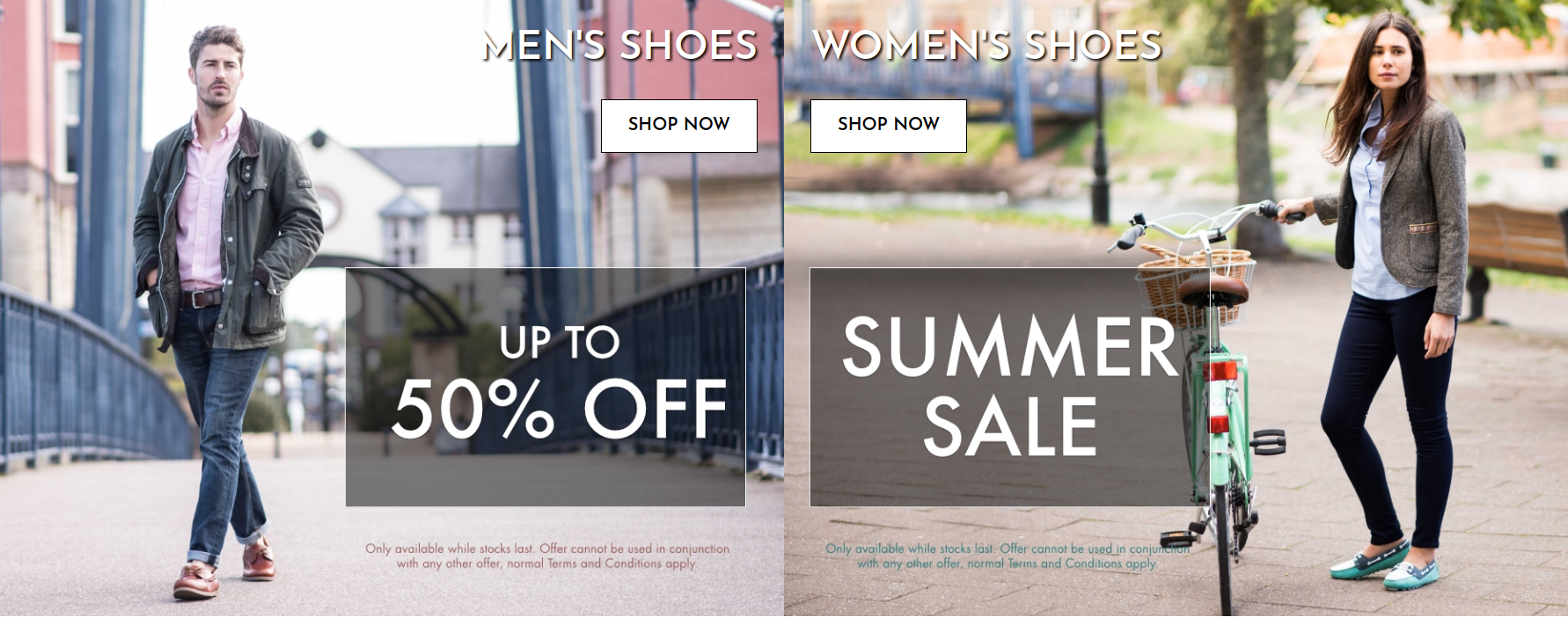 Chatham: Sale up to 50% off mens and womens shoes