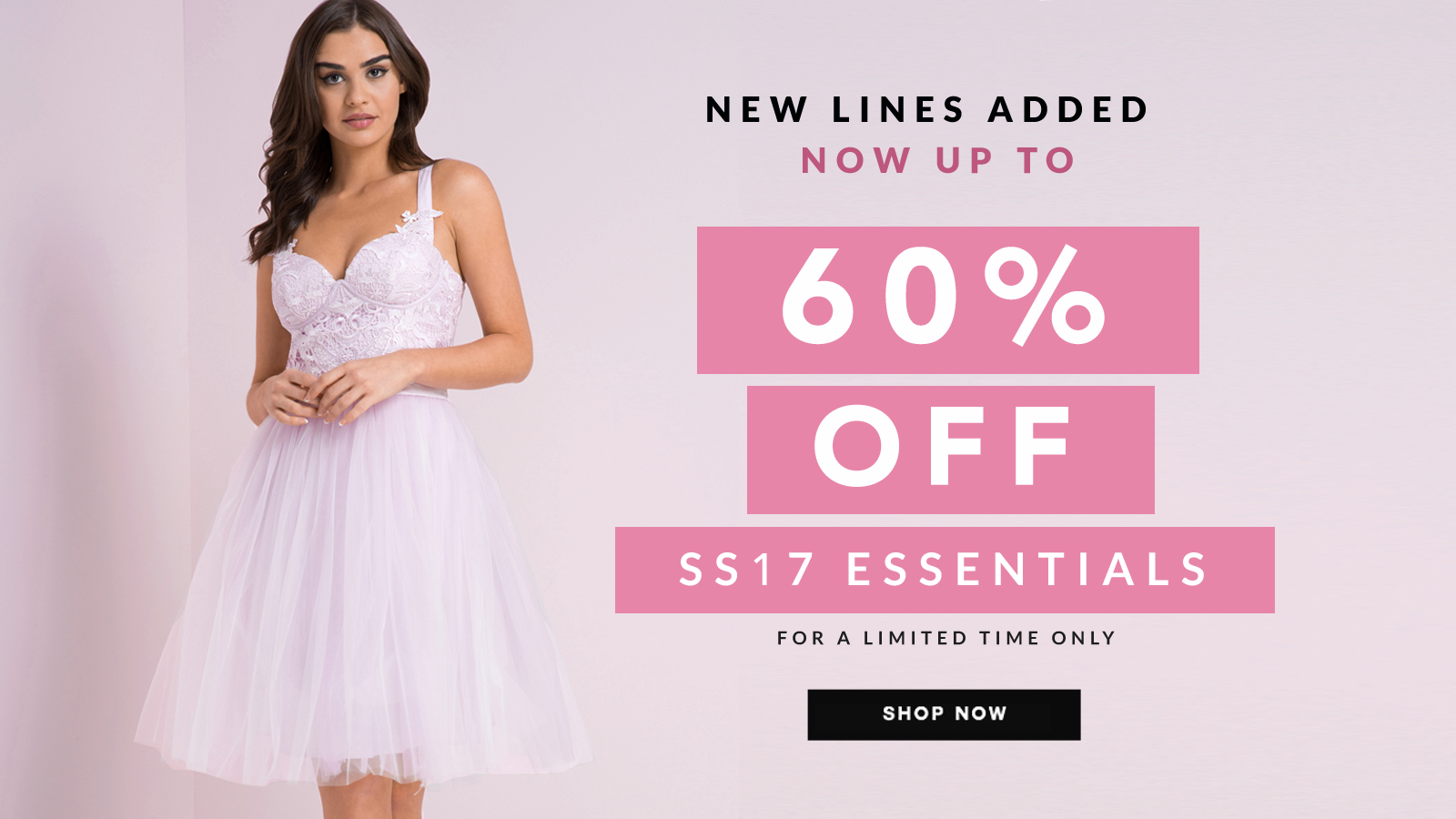 Chi Chi: Sale up to 60% off Spring and Summer 2017 Essentials