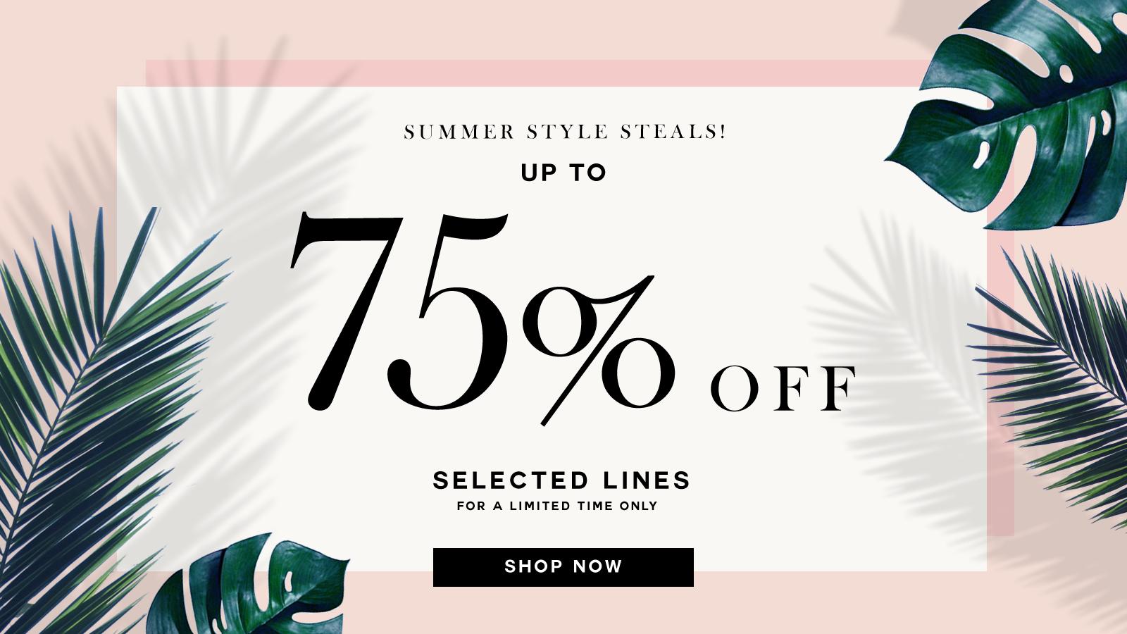 Chi Chi Chi Chi: 75% off women's clothing