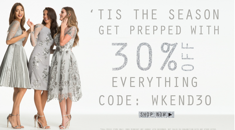 Chi Chi: 30% off everything