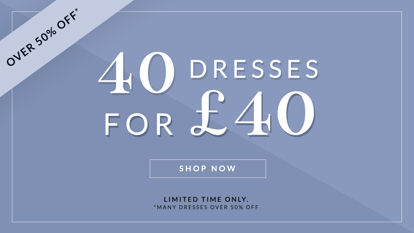 Chi Chi Chi Chi: 40 dresses for £40, many dresses over 50% off