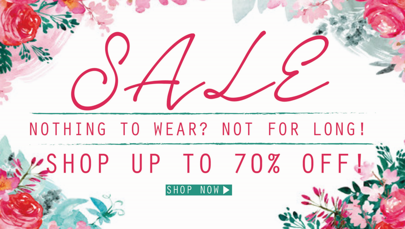 Chi Chi: Sale up to 70% off dresses, shoes and accessories
