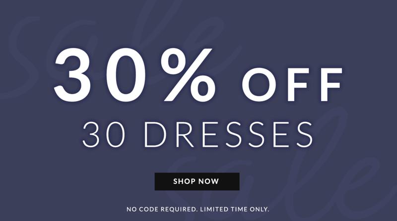 Chi Chi: 30% off dresses