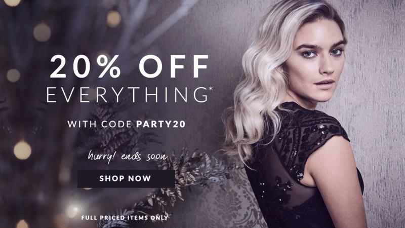 Chi Chi Chi Chi: 20% off womenswear
