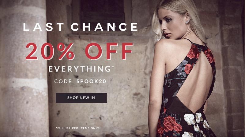 Chi Chi: 20% off dresses