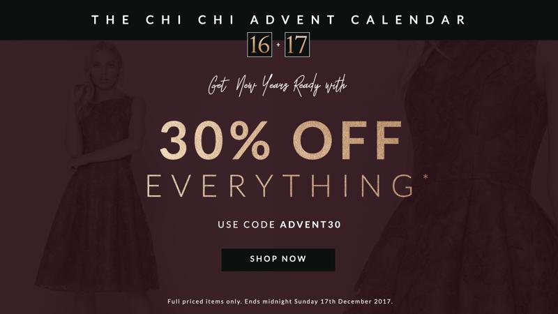 Chi Chi Chi Chi: 30% off ladies fashion