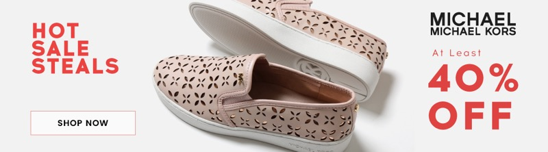 Cloggs Cloggs: Sale at least 40% off Michael Kors shoes