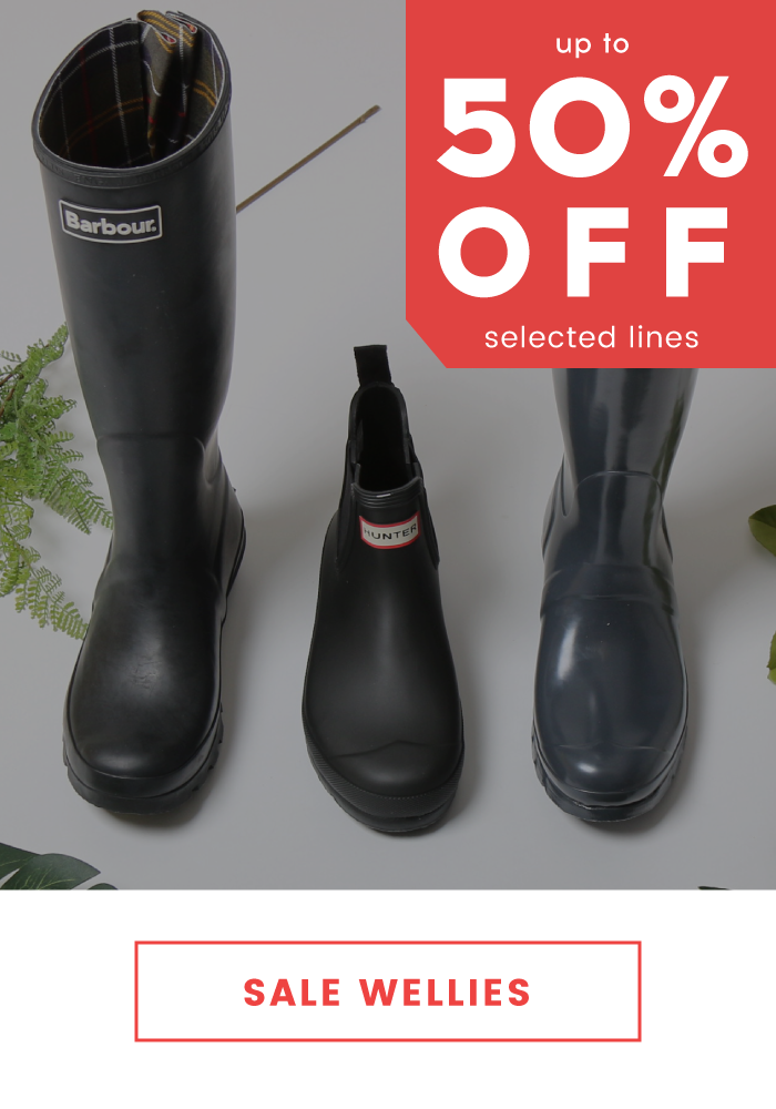 Cloggs: Sale up to 50% off wellies