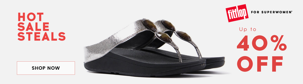 Cloggs Cloggs: Sale up to 40% off fitflop