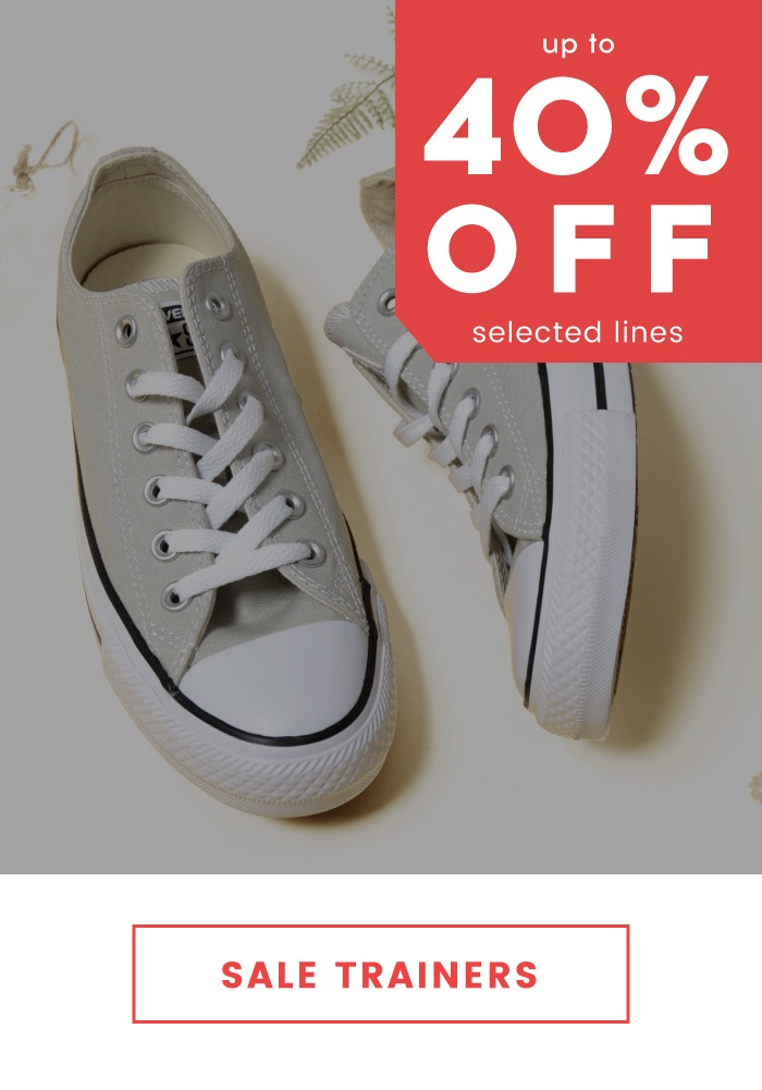 Cloggs: Sale up to 40% off trainers