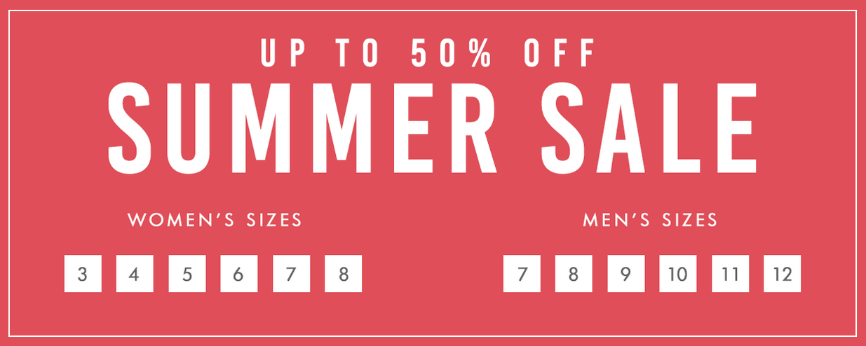 Cloggs: Summer Sale up to 50% off across footwear