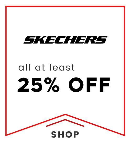 Cloggs: all at least 25% off skechers shoes